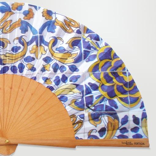 leque azulejo sec XVII - camélia 2