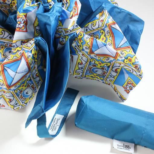 mini gurada chuva azulejo sec XVII ponta de diamante