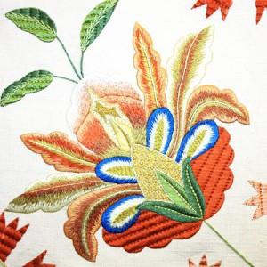 Castelo Branco embroidery bedspread