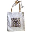 20230 2 Eco sacola Azulejo séc. XVII - camélia