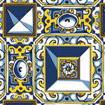 17th century Portuguese Tiles – Diamond Tip